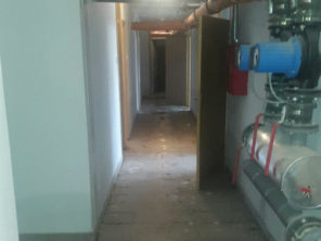 poplava u zgradi